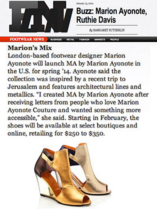 MA by Marion Ayonote featured in WWD.com image