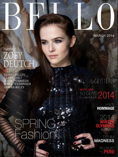 Zoey Deutch wears Conqueror Gold by Marion Ayonote Couture image