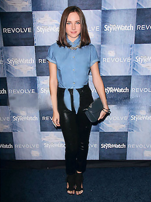 Actress Haley Ramm Wears Marion Ayonote – People Stylewatch Denim Event image