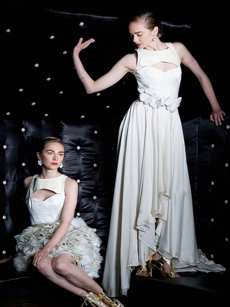 LoveIncMag.com featuring Marion Ayonote Couture image