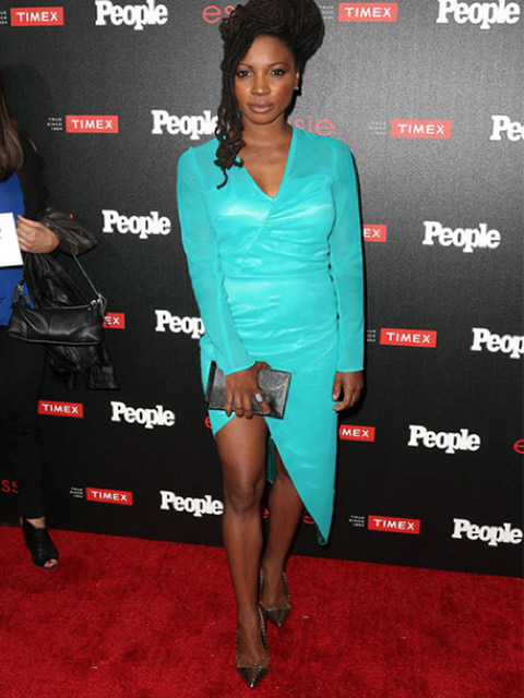 Actress Shanola Hampton in Marion Ayonote Couture image
