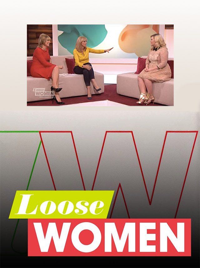 Three-Time Grammy Winner Kelly Clarkson in Ayonote on ITV's 'Loose Women' image