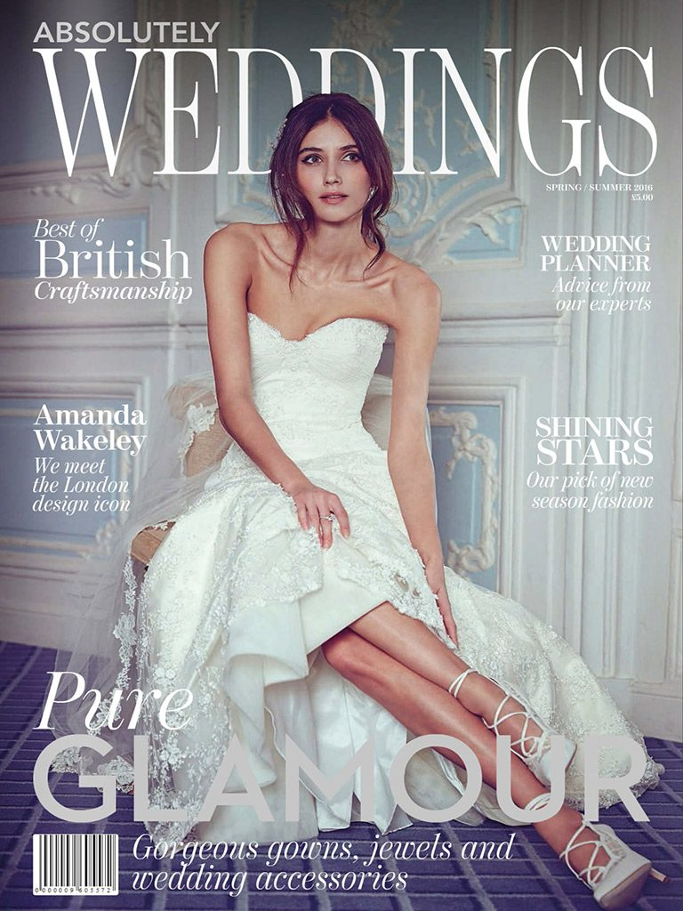 Conqueror Silver featured in Absolutely Weddings image