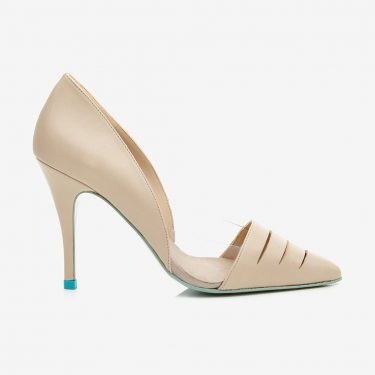 Palm d'Orsay Pump Beige