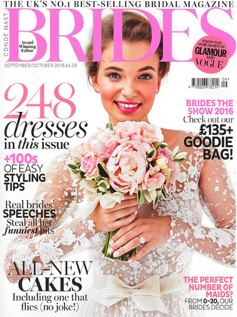 Marion Ayonote in Brides Magazine image