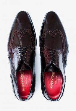 'Bruce' Wing Tip Brogue Coffee