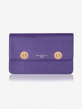 Issoria Disc Clutch Purple