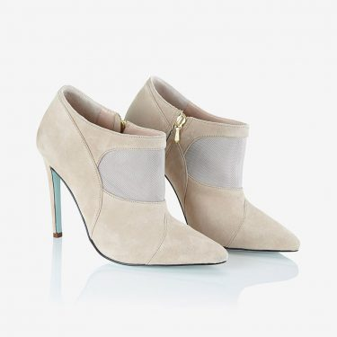 Poma Ankle Boot Beige