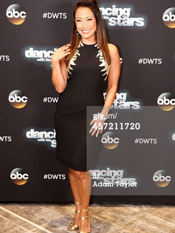Dancing With The Stars' Carrie Ann Inaba Wears Marion Ayonote image